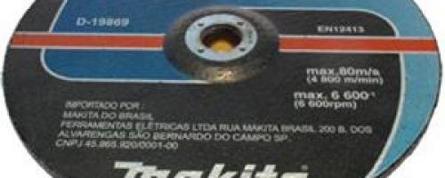 DISCO DE LIXA